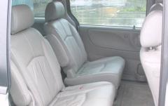 2001 Mazda MPV interior
