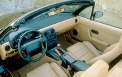 1997 Mazda MX-5 Miata interior