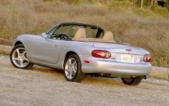 2001 Mazda MX-5 Miata exterior
