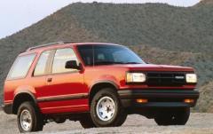1992 Mazda Navajo exterior