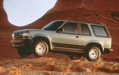1993 Mazda Navajo exterior