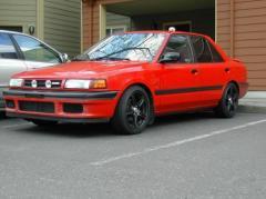 1990 Mazda Protege Photo 7