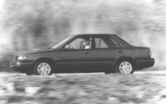 1991 Mazda Protege exterior