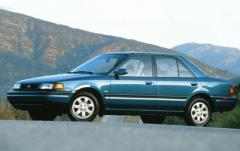 1993 Mazda Protege exterior
