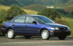 1995 Mazda Protege exterior