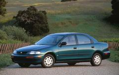 1996 Mazda Protege exterior