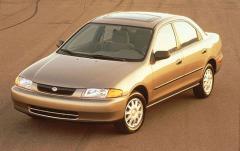 1997 Mazda Protege exterior