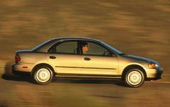 1998 Mazda Protege exterior