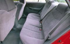 1999 Mazda Protege interior