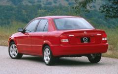 1999 Mazda Protege exterior