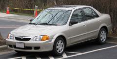 2000 Mazda Protege Photo 2