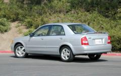 2000 Mazda Protege exterior