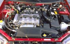 2001 Mazda Protege exterior