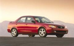 2002 Mazda Protege exterior