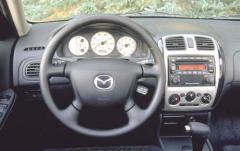 2003 Mazda Protege interior