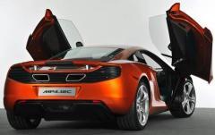 2012 McLaren MP4-12C exterior