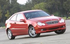 2004 Mercedes-Benz C-Class exterior