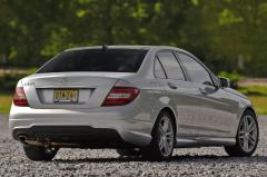 2013 Mercedes-Benz C-Class C250 Sport Sedan exterior