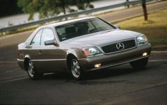 1999 Mercedes-Benz CL-Class exterior