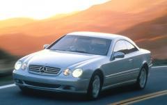 2001 Mercedes-Benz CL-Class exterior