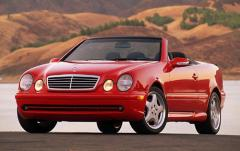 2001 Mercedes-Benz CLK-Class exterior