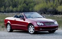 2004 Mercedes-Benz CLK-Class exterior
