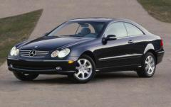 2005 Mercedes-Benz CLK-Class exterior