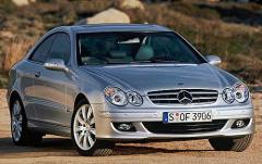 2006 Mercedes-Benz CLK-Class exterior