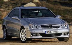 2007 Mercedes-Benz CLK-Class Photo 1