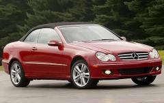2009 Mercedes-Benz CLK-Class exterior