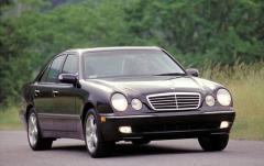 2002 Mercedes-Benz E-Class exterior