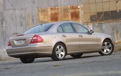 2003 Mercedes-Benz E-Class exterior