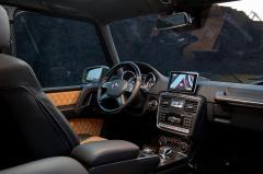 2013 Mercedes-Benz G-Class interior