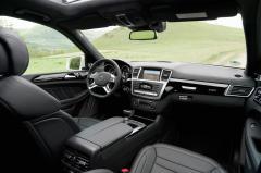 2014 Mercedes-Benz GL-Class interior