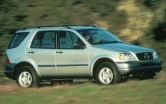 1998 Mercedes-Benz M-Class exterior