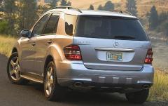 2008 Mercedes-Benz M-Class exterior