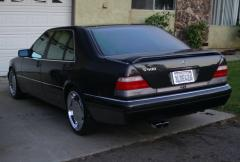 1995 Mercedes-Benz S-Class Photo 2