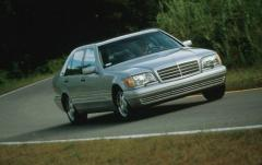 1999 Mercedes-Benz S-Class exterior