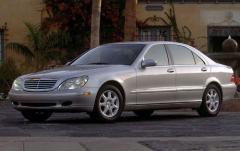 2000 Mercedes-Benz S-Class exterior