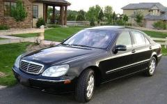 2001 Mercedes-Benz S-Class Photo 3