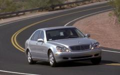 2001 Mercedes-Benz S-Class exterior