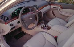 2001 Mercedes-Benz S-Class interior