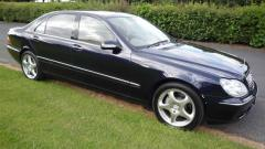 2002 Mercedes-Benz S-Class Photo 2