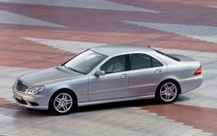 2003 Mercedes-Benz S-Class Photo 4