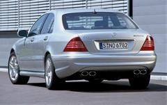 2003 Mercedes-Benz S-Class exterior