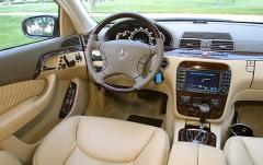 2004 Mercedes-Benz S-Class interior