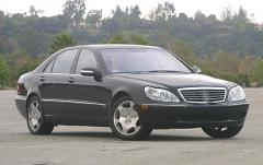 2004 Mercedes-Benz S-Class exterior