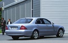 2005 Mercedes-Benz S-Class exterior