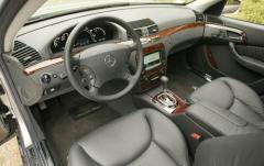 2005 Mercedes-Benz S-Class interior
