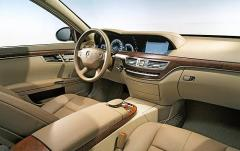 2007 Mercedes-Benz S-Class S600 interior